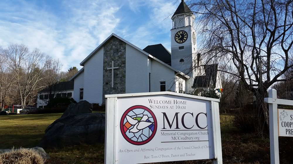 Memorial Congregational Church, Sudbury, MA