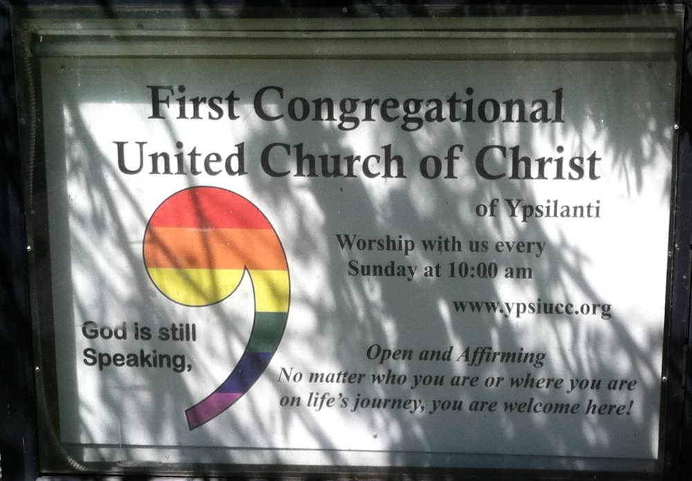 First Congregational UCC, Ypsilanti, MI