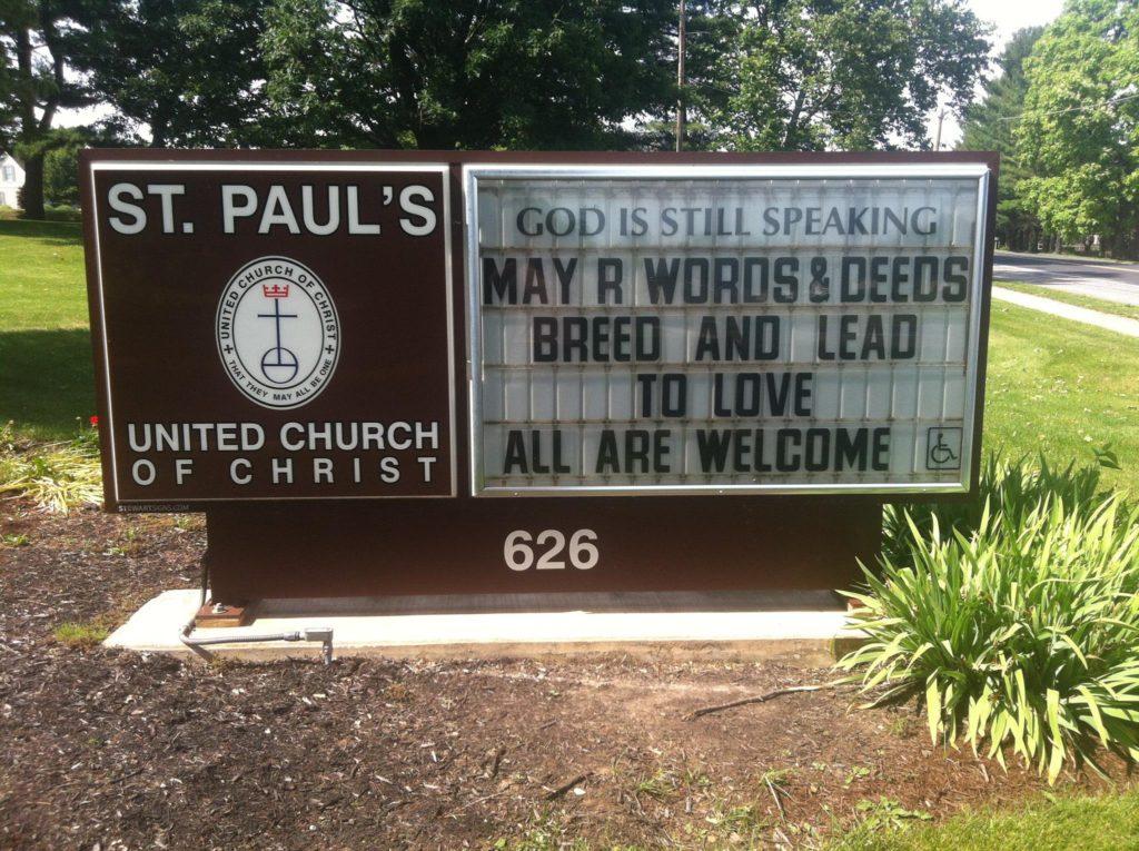 St. Paul's UCC, Mechanicsburg PA